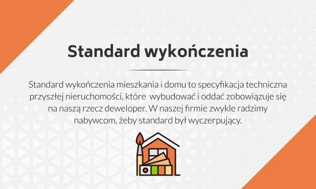 Standard wykończenia to istotny zapis w umowie deweloperskiej