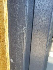 Zabrudzenia ramy okiennej i szyby (klej)