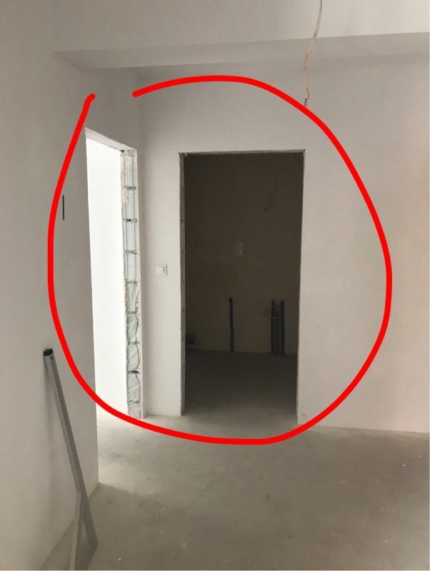 Zbyt niskie otwory drzwiowe